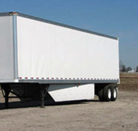 Semi Trailer with Belly Fairing