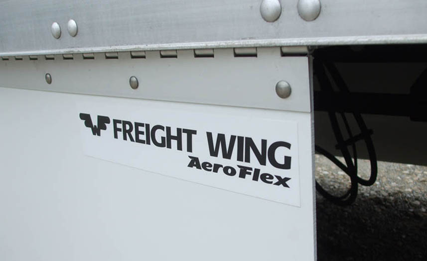 Close up of Freight Wing Aeroflex